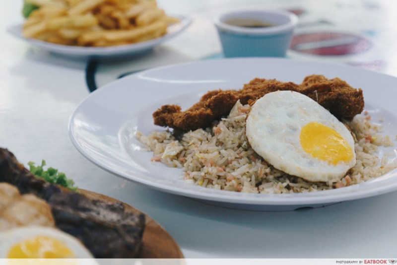 Grill Werkz - Fried Rice w Chicken Cutlet