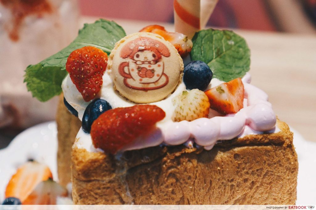 My Melody Cafe - toppings