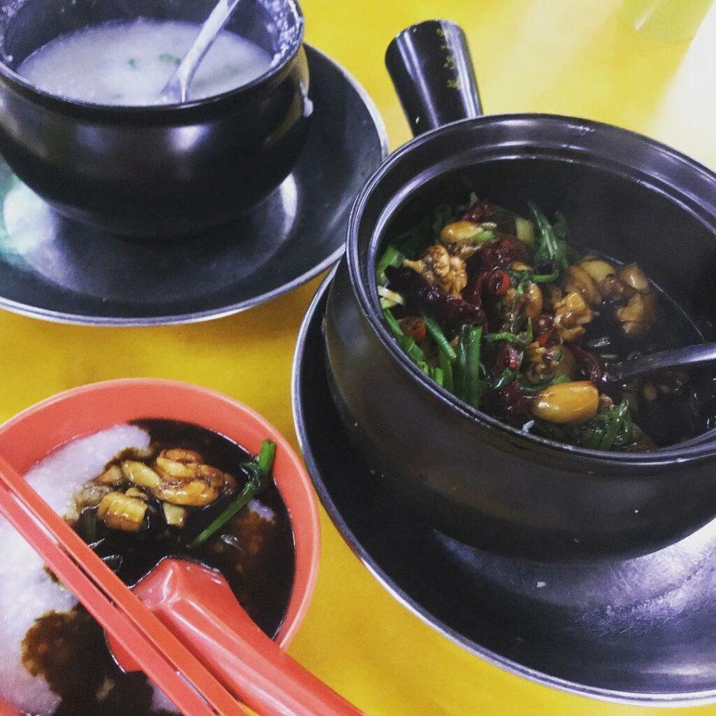 Peoples Park Food Frog Leg Porridge