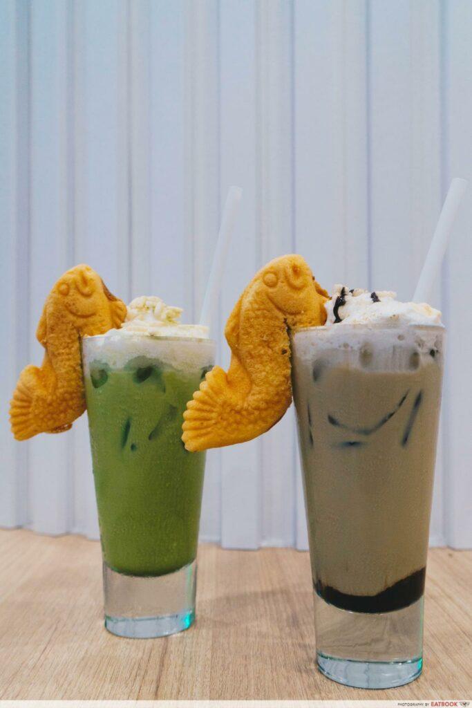 Two Hana drinks