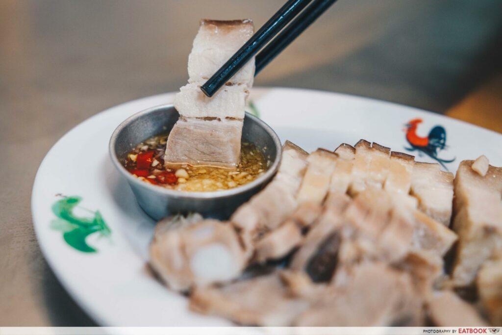 yaowarat- pork and sauce