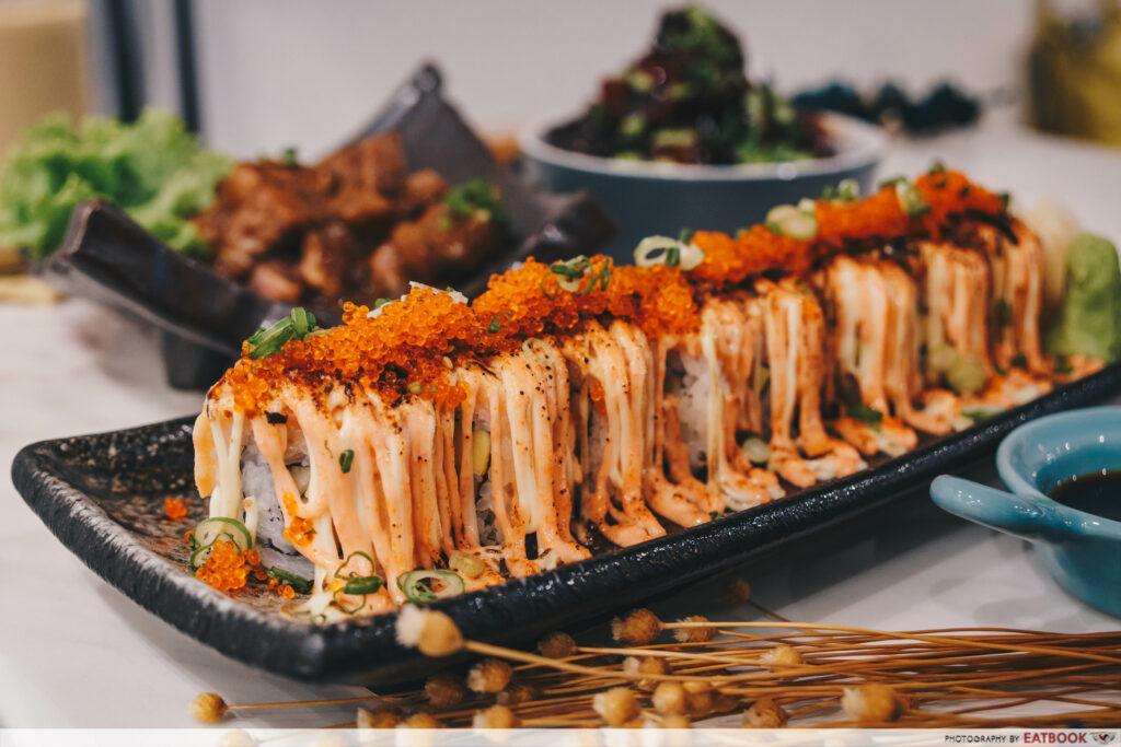 Bao Makers Salmon Mentaiko Roll