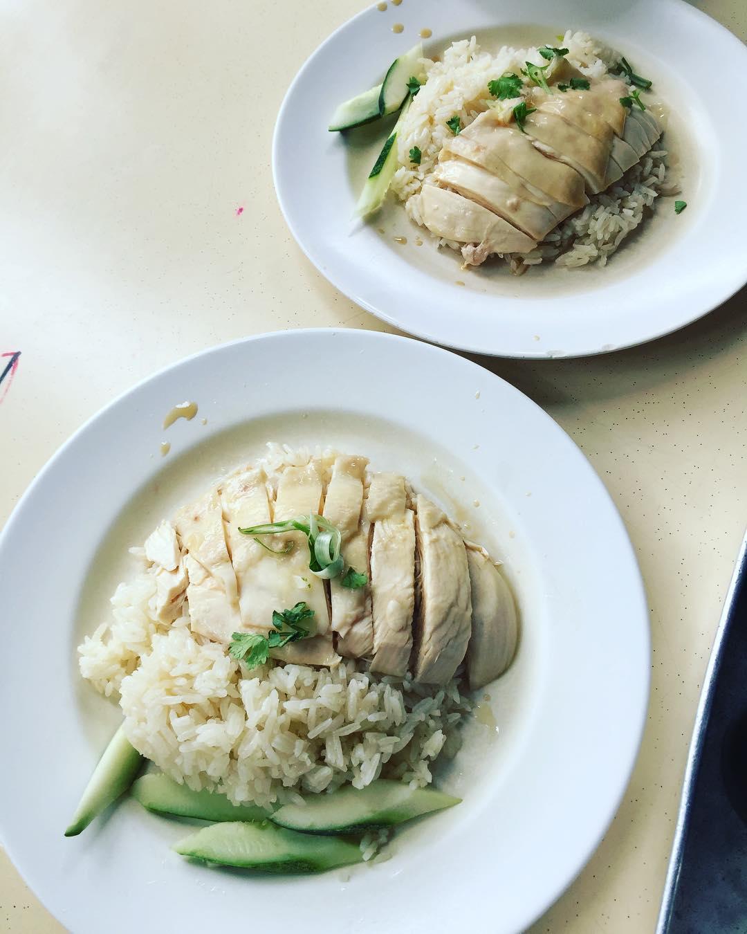 Changi Village Food Tiong Bahru Boneless Hainanese Chicken Rice