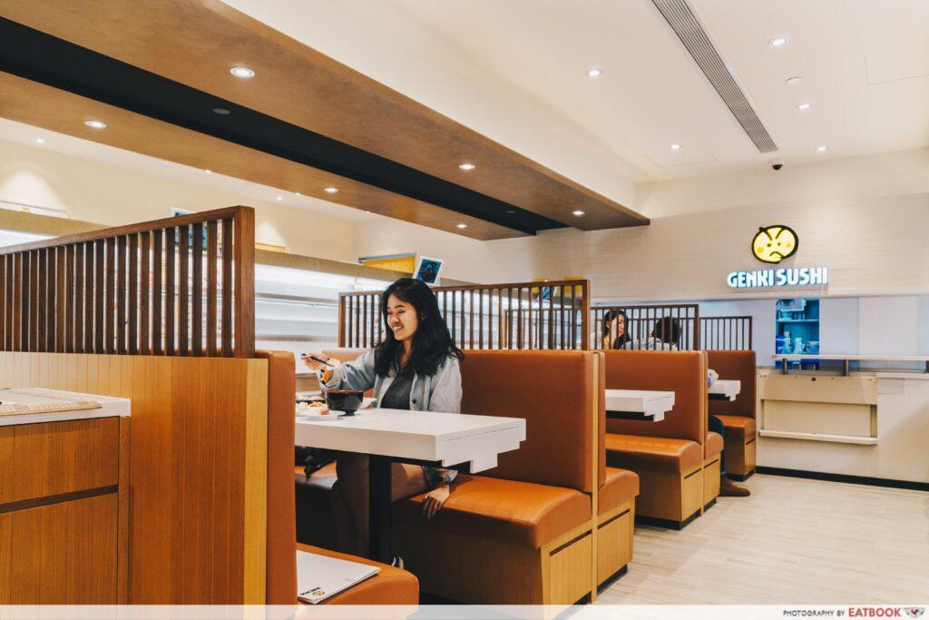 Genki Sushi Bishan Interior