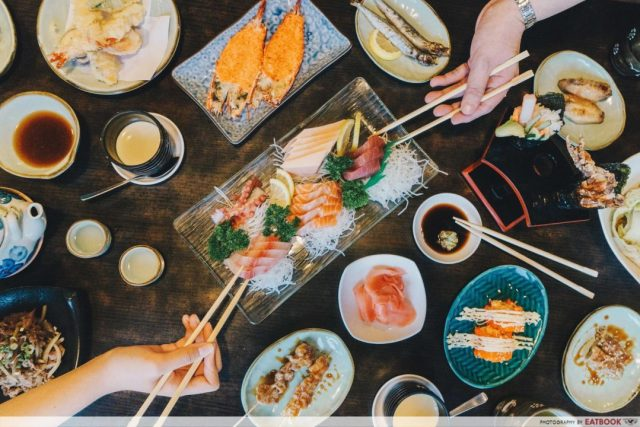 Sushi Buffet Food Places - (3)