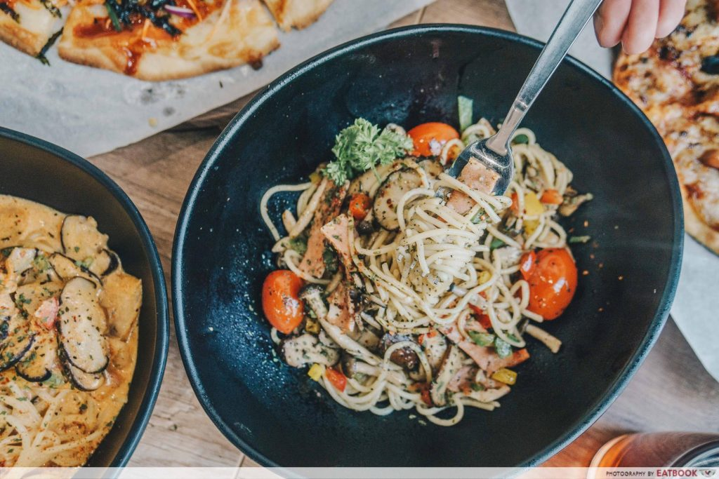 limited time dining deals maybank saute-san pasta