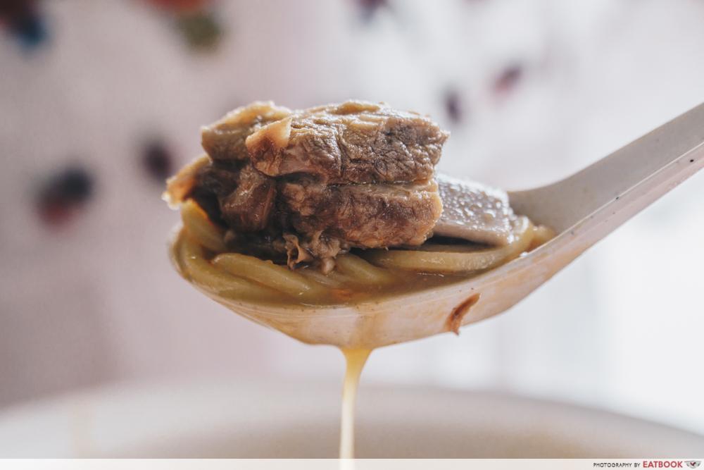 Big Prawn Noodles - Pork Rib Prawn Noodle Pork Ribs