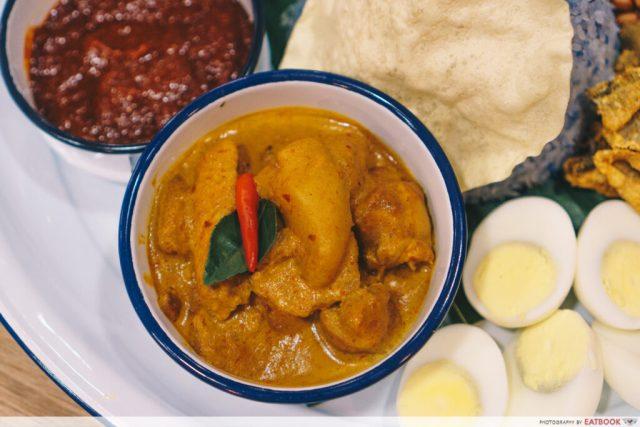 Chicken Curry - Nasi Lemak XXL
