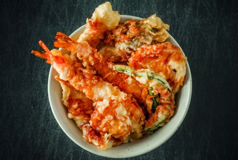 Donburi Revolution - tempura don