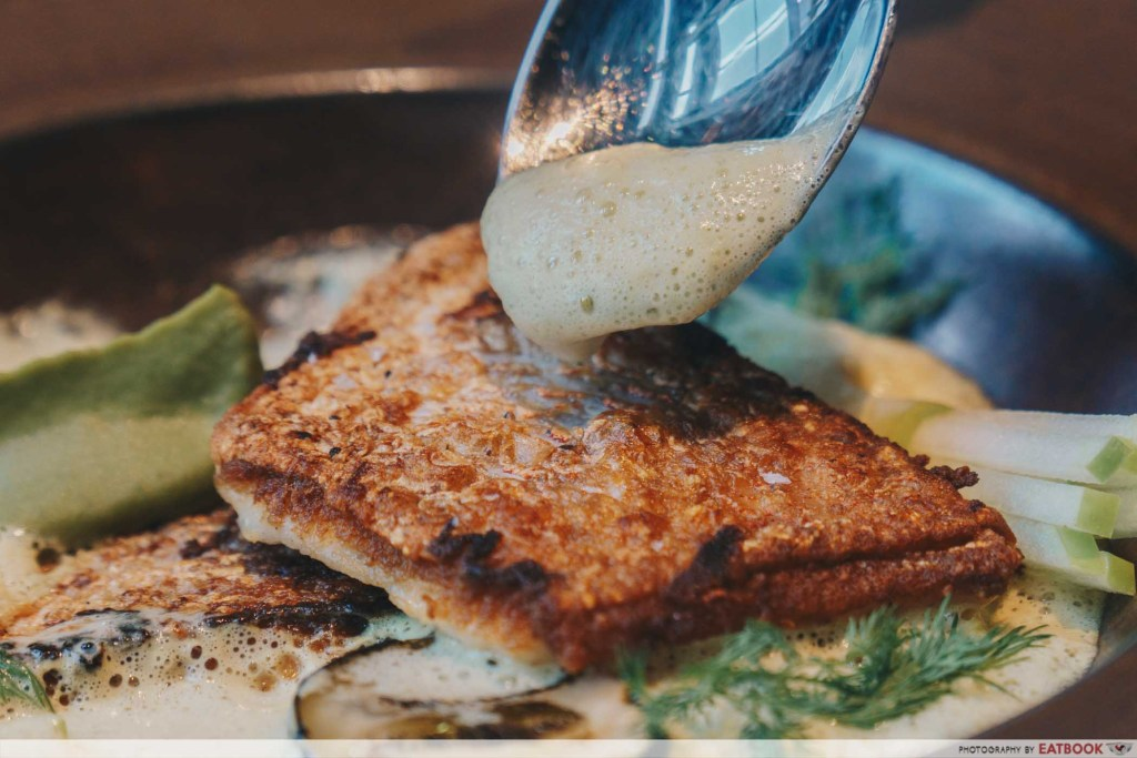 The Spot Green Curry Red Snapper
