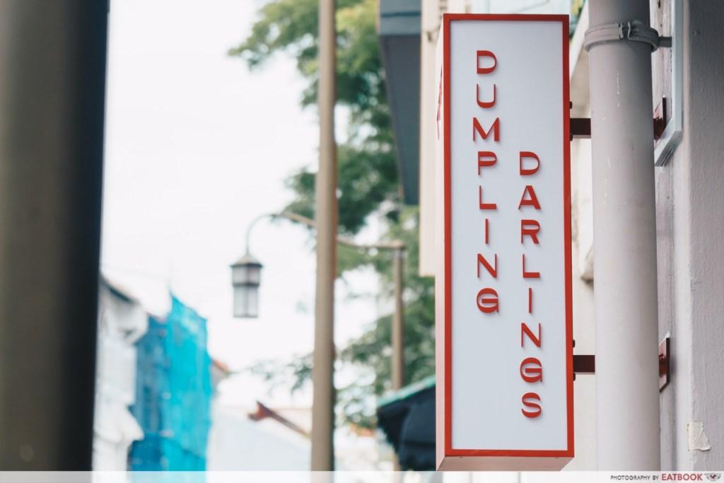 dumpling darlings signboard