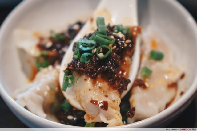dumpling darlings spicy sichuan