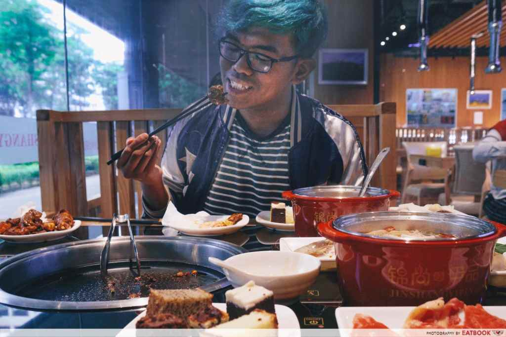 halal steamboat buffet review