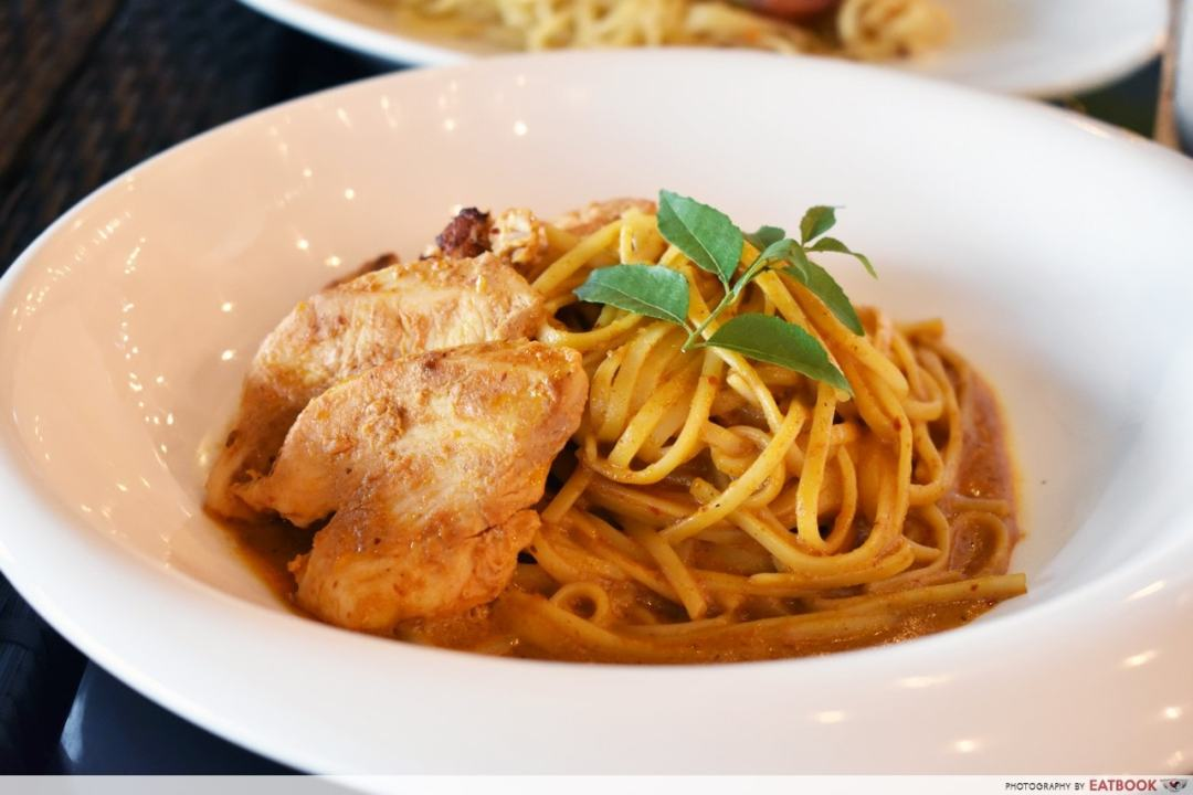 1-For-1 Lunch - Citrus Bistro Dry Curry Pasta with Chicken