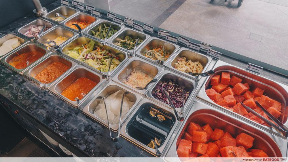 Captain Kim - Salad Bar