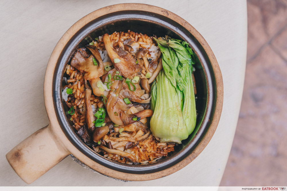 House Of Happiness - Assorted Mushroom with Baby Bok Choy