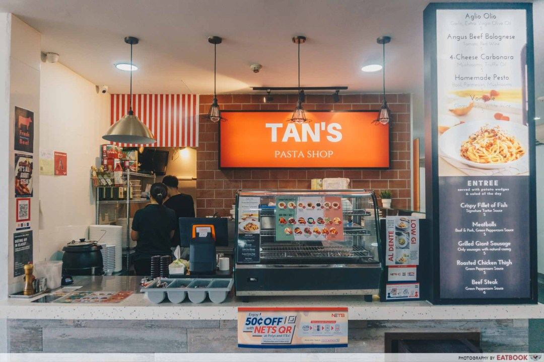 Tan's Pasta Shop Ambience