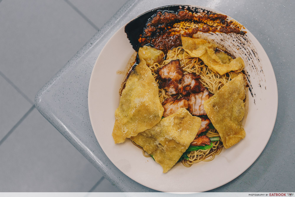 Bei-ing Wanton Mee - Wanton Noodle