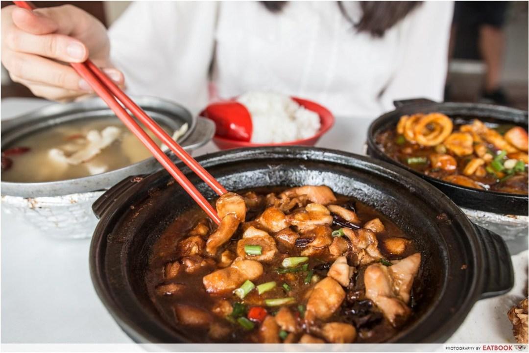 Claypot Dishes - Sesame Chicken