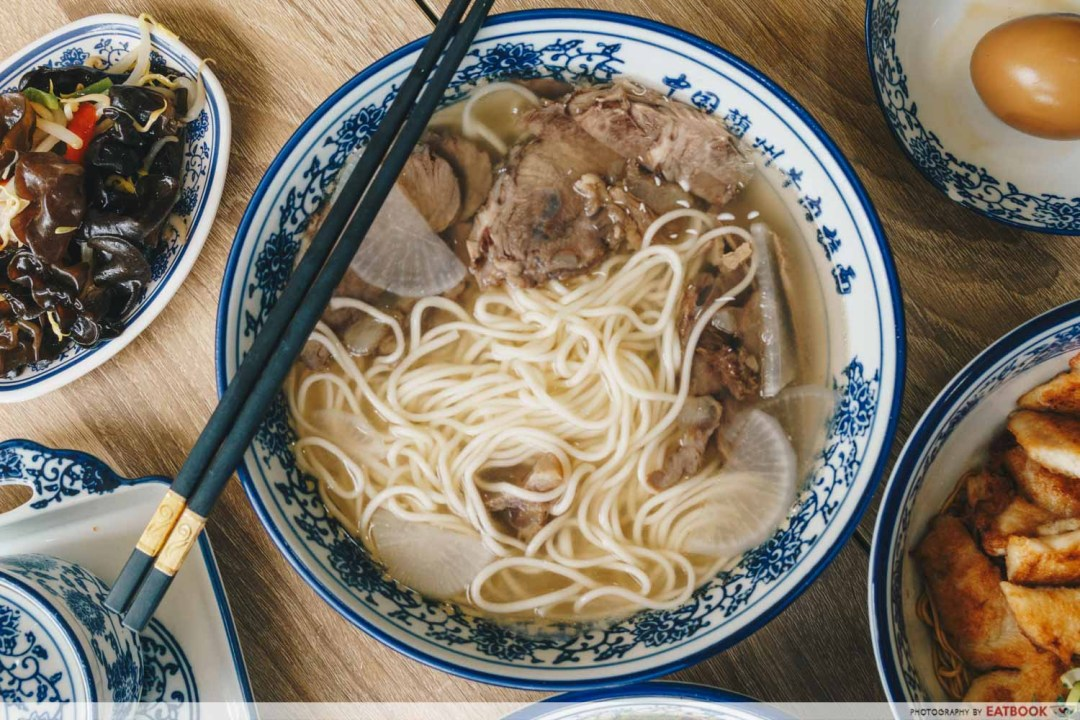 New restaurants in December Signature Beef Noodle