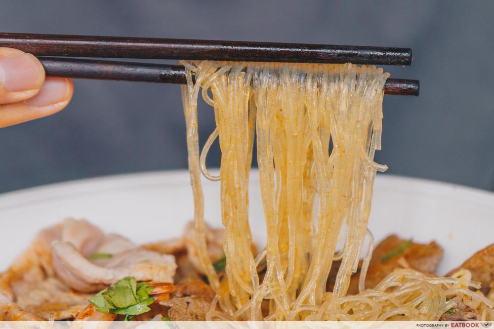 The Thai Society Ma La Boat Noodles glass noodles