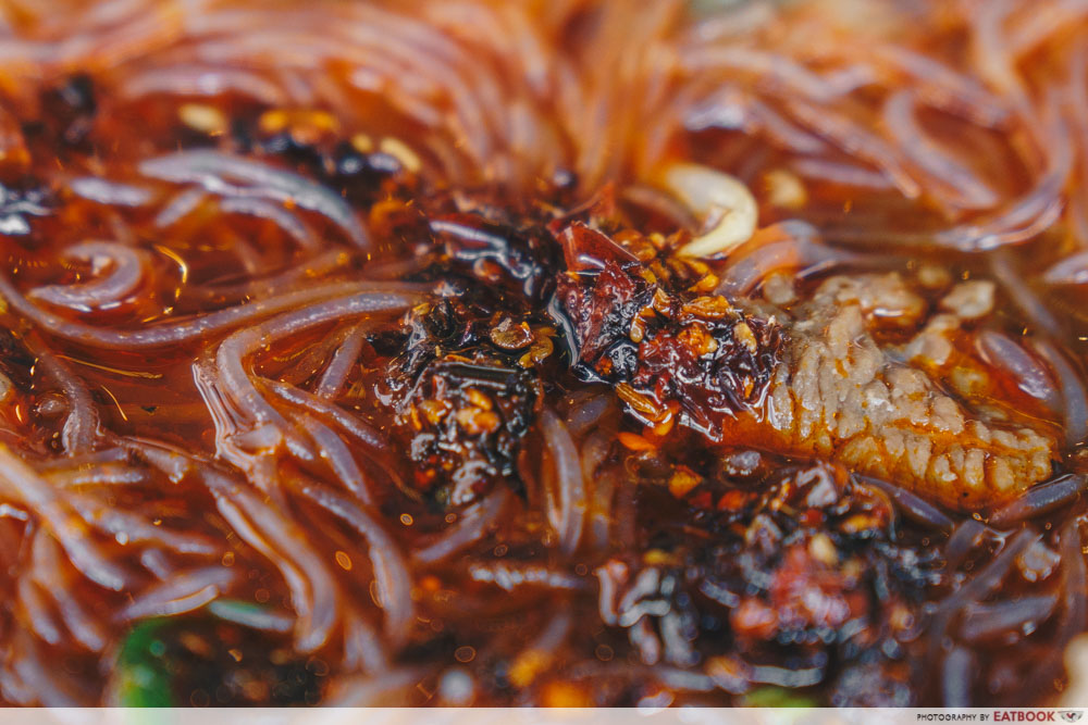 The Thai Society Ma La Boat Noodles liver
