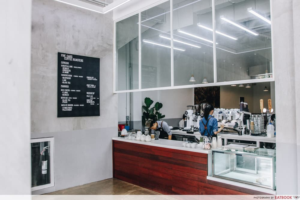 best cafes eatbook top 50 awards Five Oars Coffee Roasters