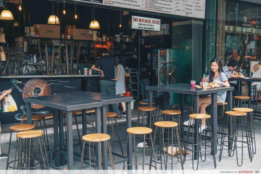 best cafes eatbook top 50 awards Two Men Bagel House