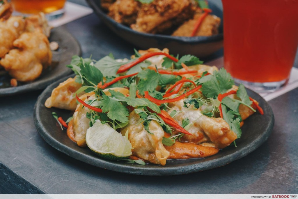 Almost Famous Tom Yum Gyoza