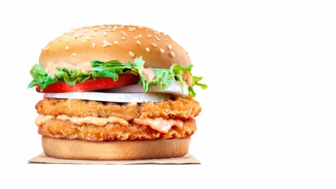 Burger King - Mentaiko double Chic'n Crisp