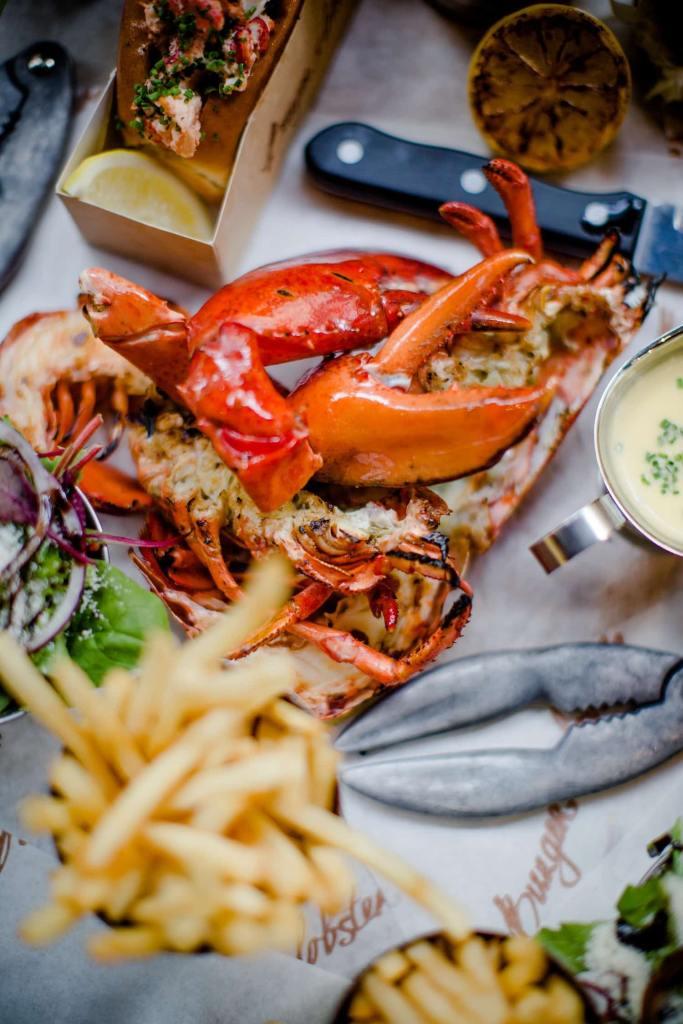 Burger & Lobster_Lobster & Lobster Roll Combo