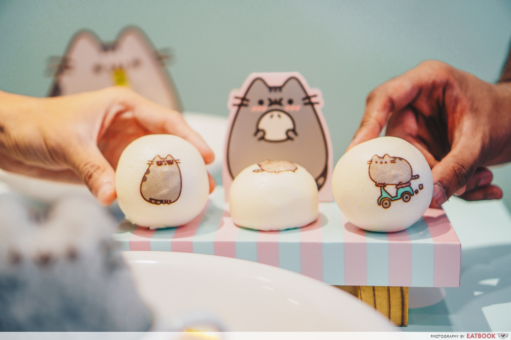 Pusheen Cafe - Green Tea Buns