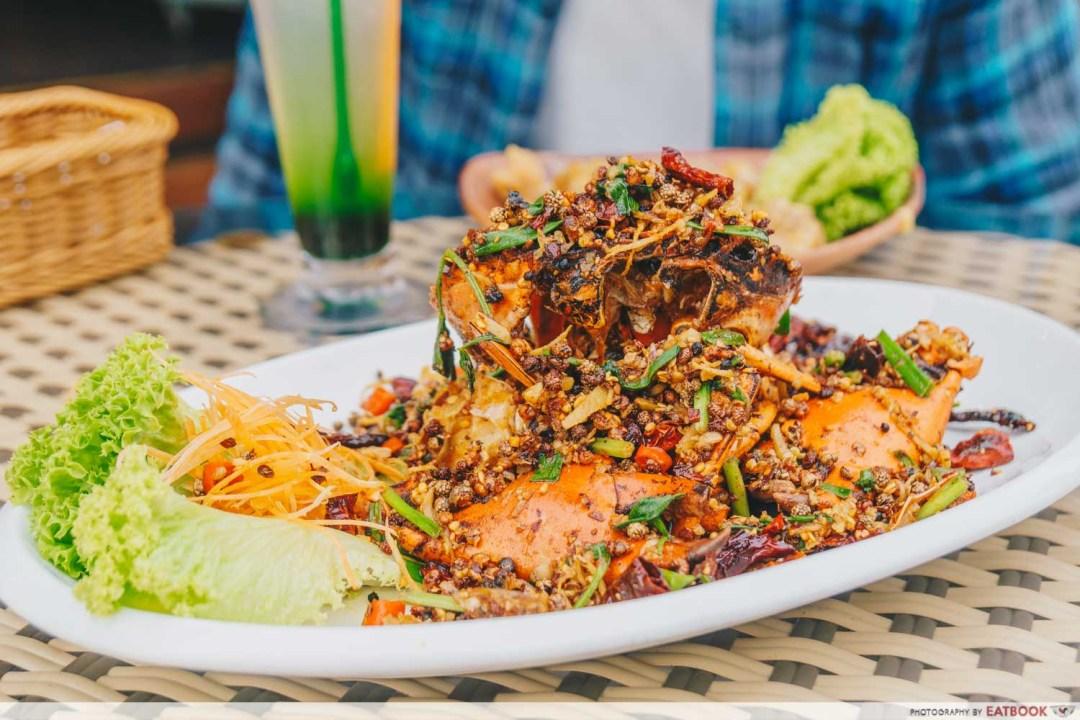 Yassin Kampung - Sichuan Mala Fried Crab