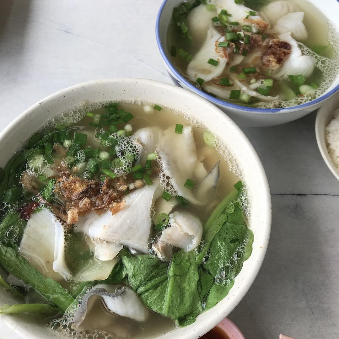 Free Fish Soup - Pomfret Fish Soup