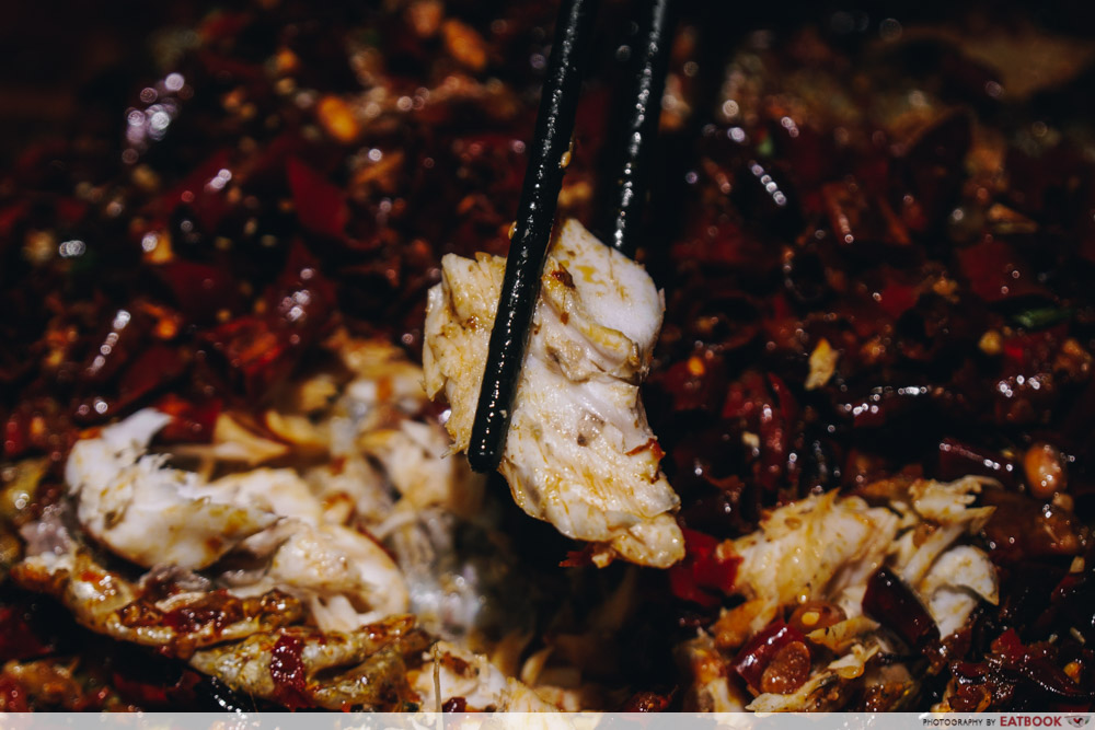 Ma La Restaurants in Town Riverside Grilled Fish flesh