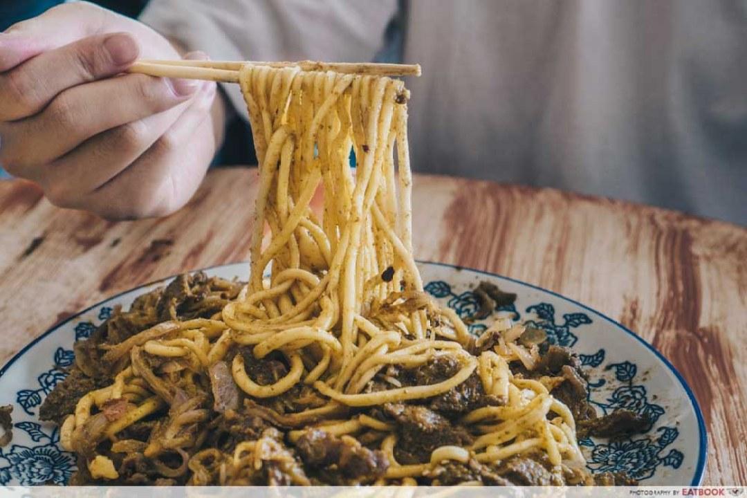 Niu Zou La Mian - dried noodles