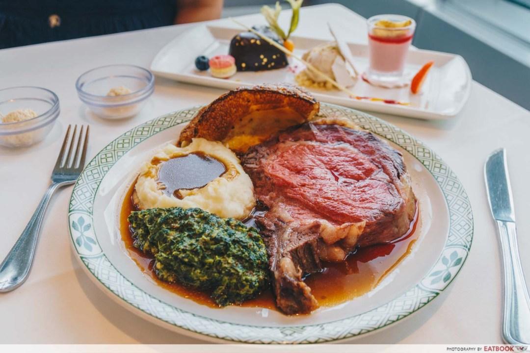 Romantic Restaurants - Lawry's The Prime Rib Singapore