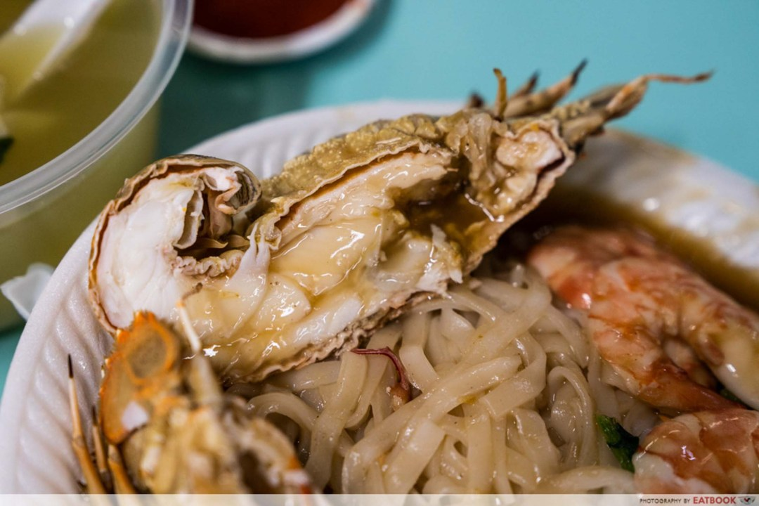Tuck Kee Ipoh Sah Hor Fun Crayfish Closeup