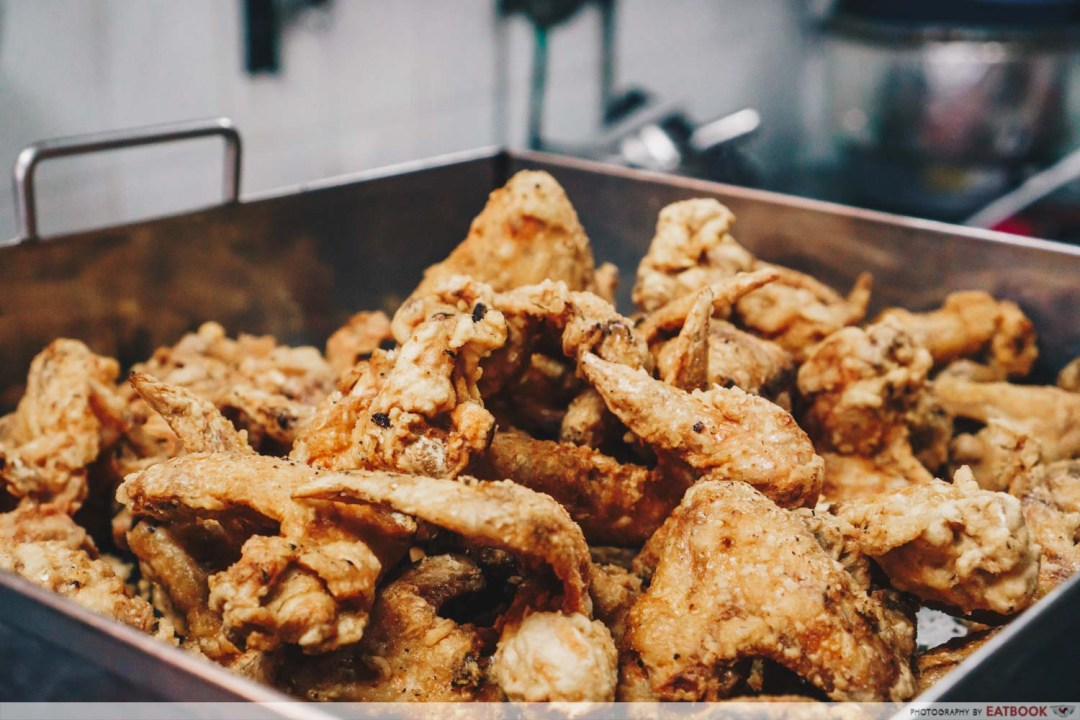 Victor Fried Chicken Wing RIce - fried chicken wings