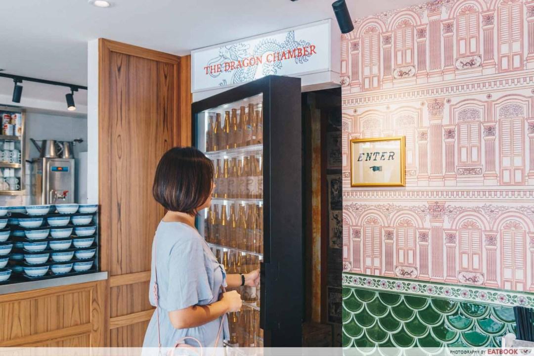 10 New Restuarants April - The Dragon Chamber fridge