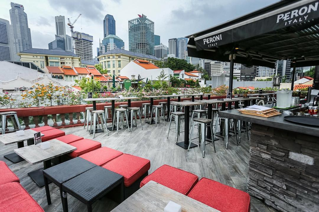 10 rooftop restaurants - The screening room ambience