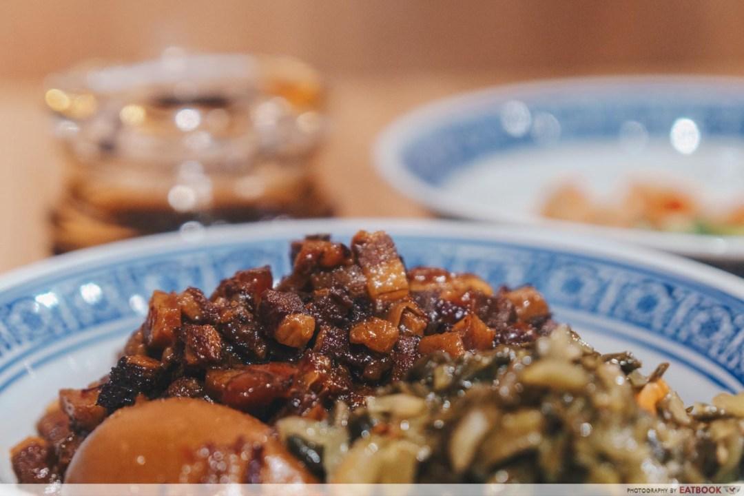 Feng Food hakka style braised meat rice lu rou
