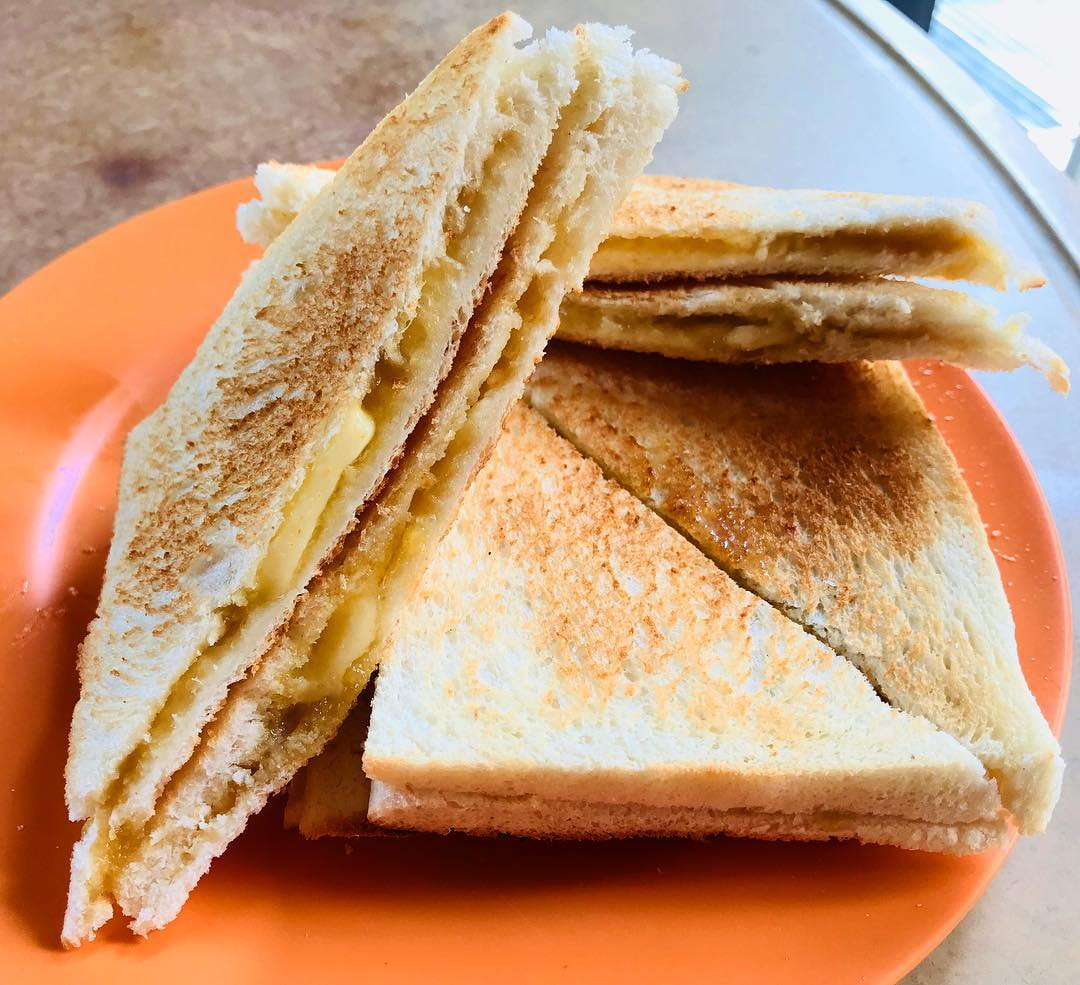 Old School Kaya Toast - Keng wah Sung
