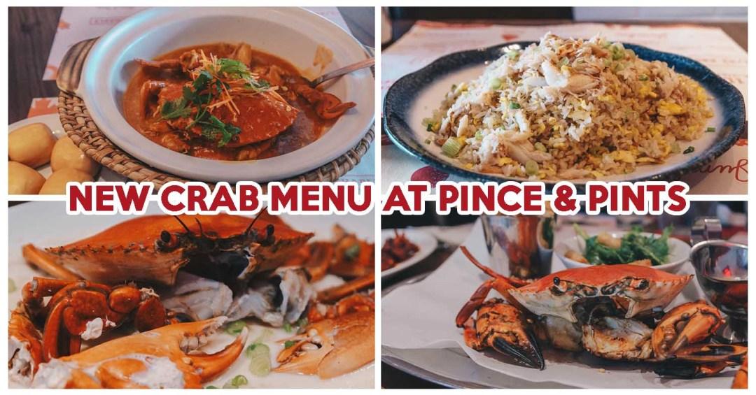 Pince & Pints Crab