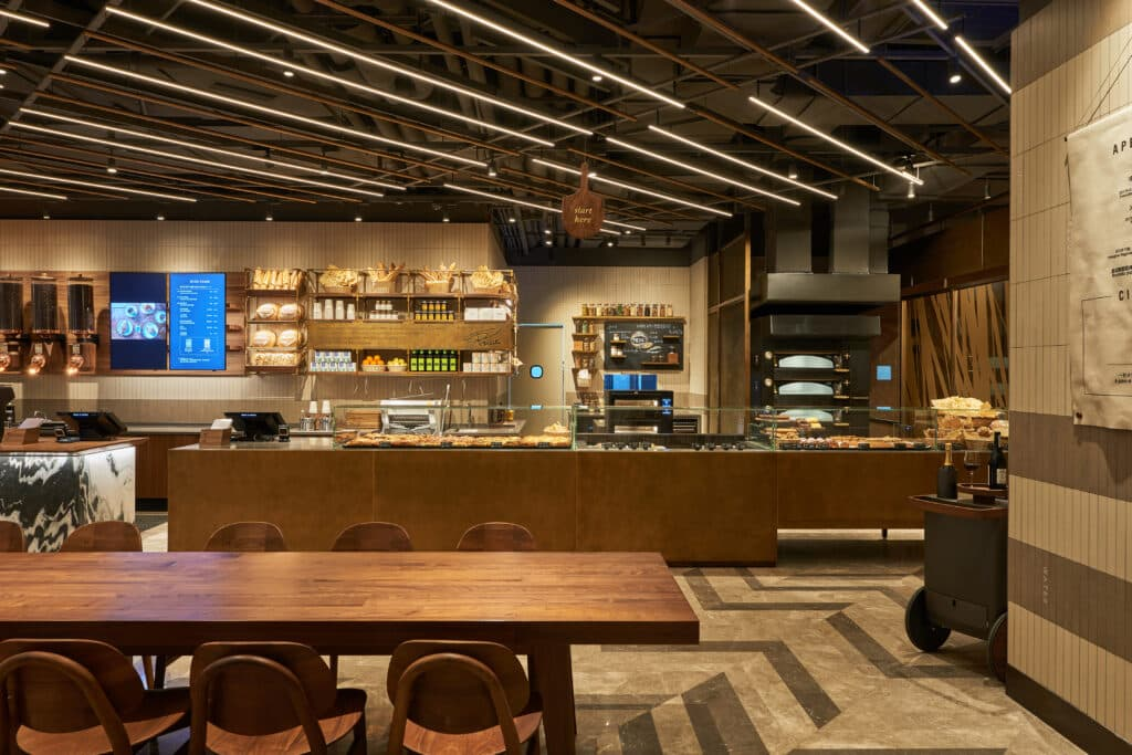 Shanghai Starbucks Reserve Bakery Cafe Interior