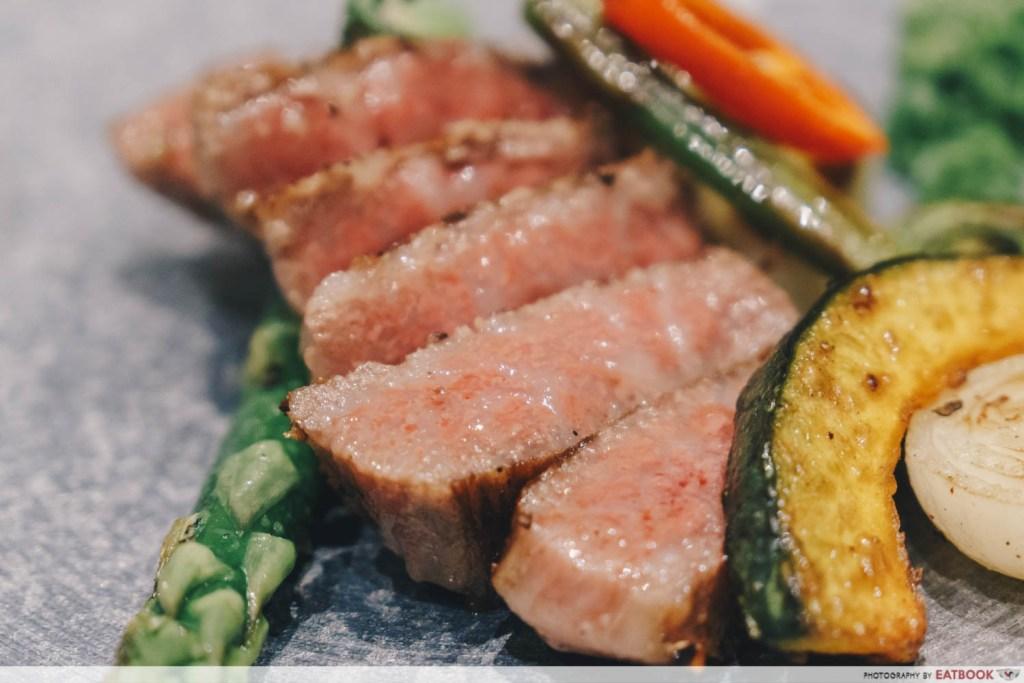 Teppan Kappou Kenji A5 Miyazaki Wagyu Tenderloin Steak