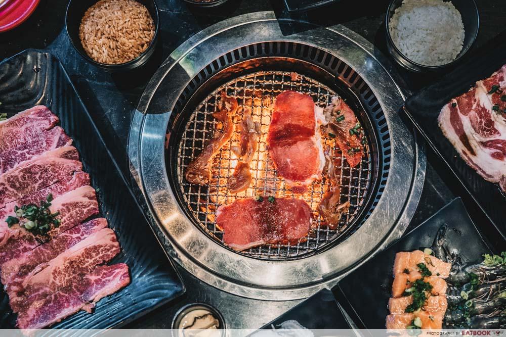 Affordable buffets in town Rocku Yakiniku