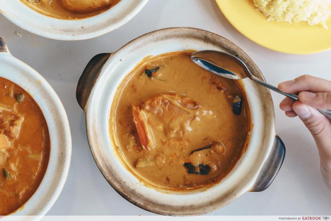 Hock Shun Curry claypot fish curry