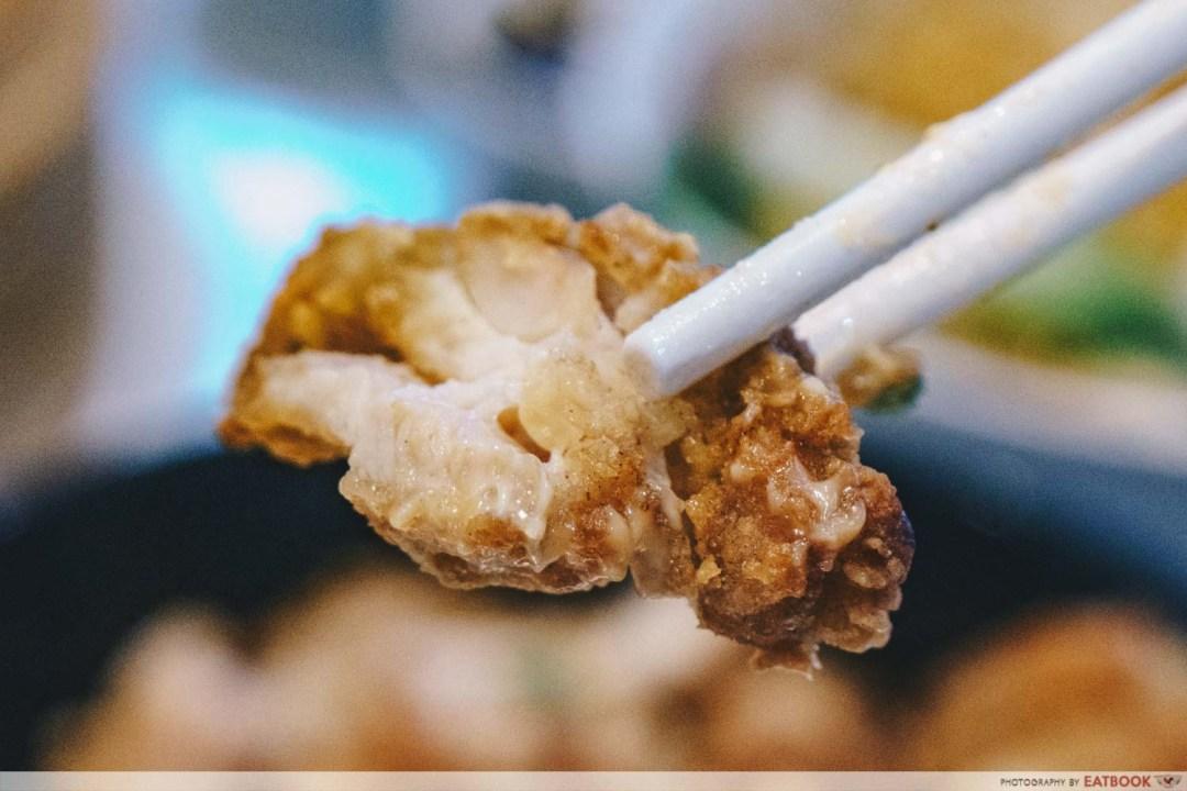 Hua Yi Kitchen - Chicken Cutlet Closeup
