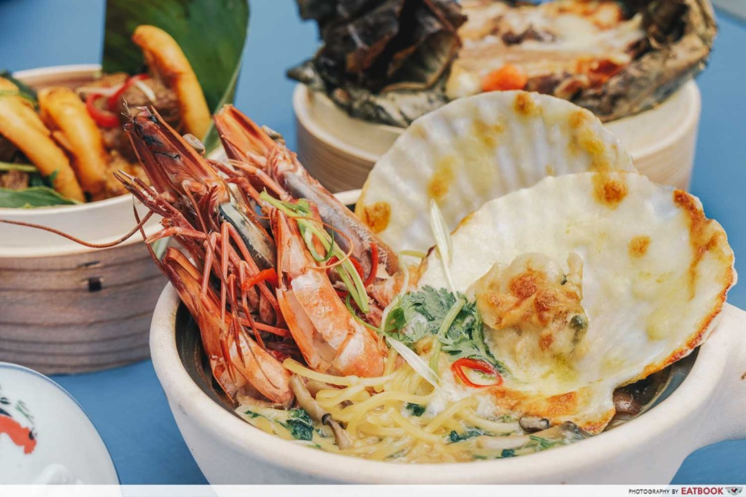 May Restaurants 2019 - Herit8ge claypot seafood mapo tofu pasta